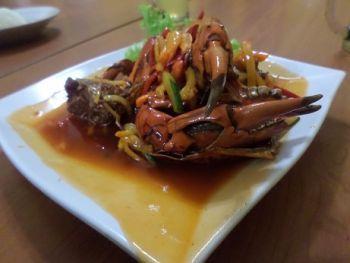 Resep Kepiting Asam Manis Praktis Sederhana : Bahan-bahan - Cara membuat (Kerjanya)