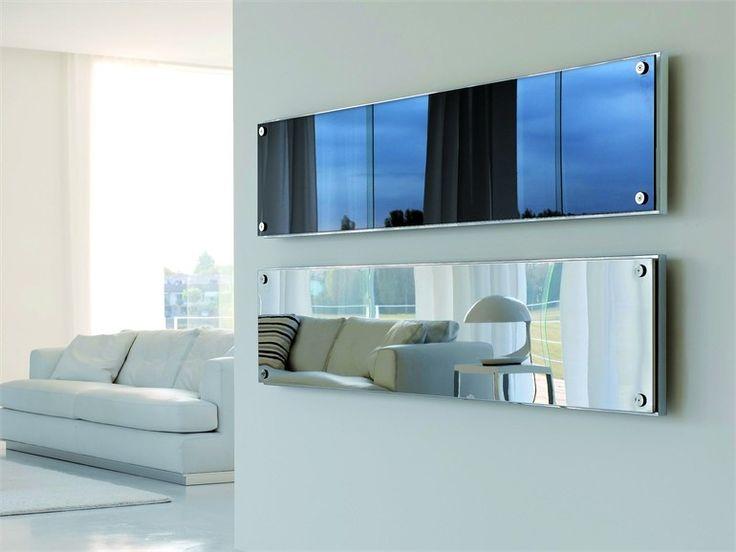 Wall Heater W Mirror Termoarredo In Acciaio Inox E Vetro Dress Collezione Design By