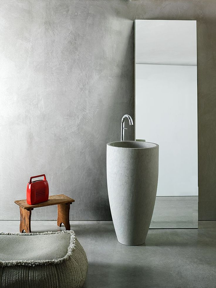 Waterproof paint made of lime HYDRO by VIERO #bathroom