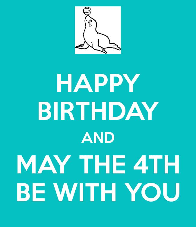 May The 4th Be With You Birthday: 89 Best Messages (Happy Birthday) Images On Pinterest