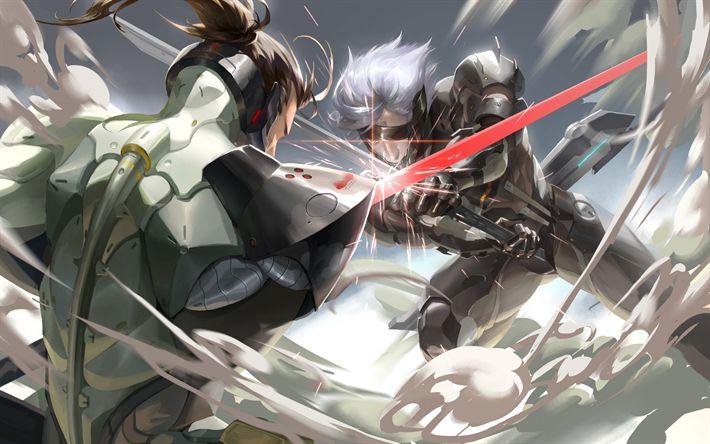 Download wallpapers Metal Gear Rising, Revengeance, Jack the Ripper, Samuel Rodrigues, Jack