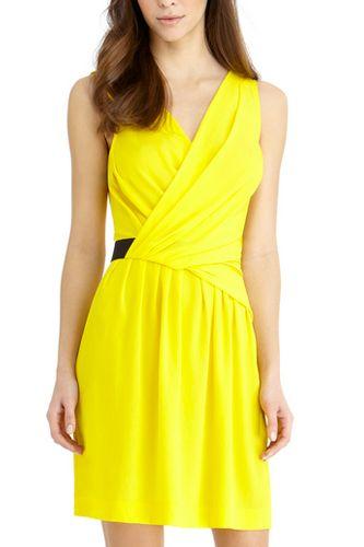 Rachel Rachel Roy Cross-Over Dress, $119, available at Rachel Roy.