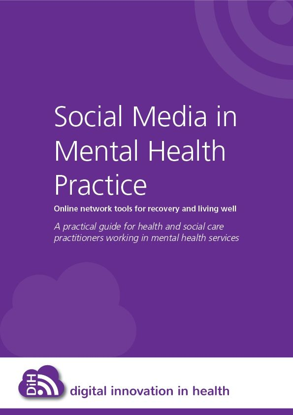 Social Media in Mental Health Practice e-book < tips and ideas of how to incorporate social media into your day-to-day practice