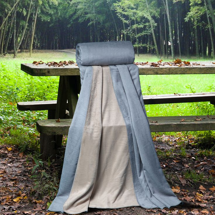 Ettitude Pure Bamboo Cradle Reversible Queen Size Blanket