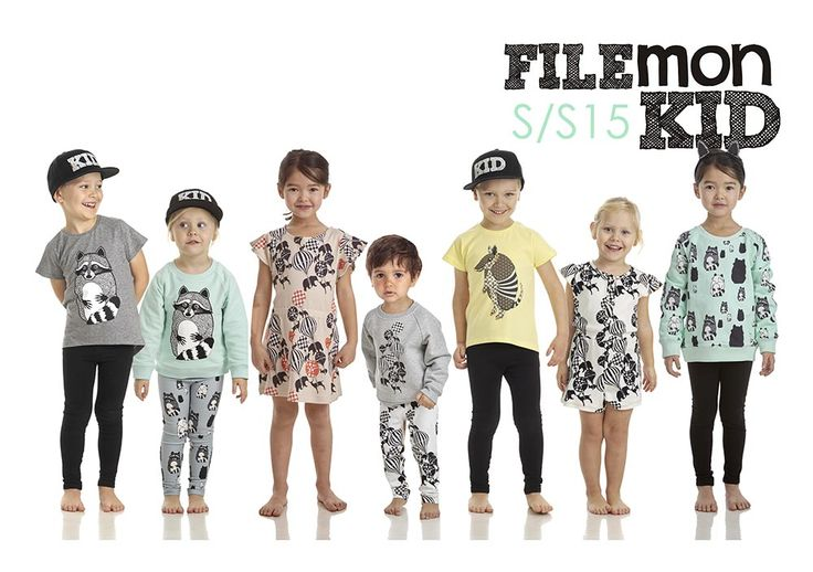 Filemon Kid - Cool clothes for cool kids! Made of organic and natural materials and water-soluble ink based printing.