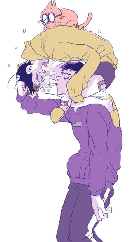「お稲荷さん」/「なにか」の漫画 [pixiv]