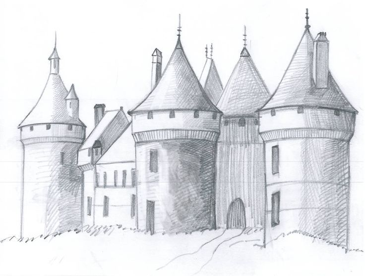 How to Draw a Medieval Castle in 6 Steps
