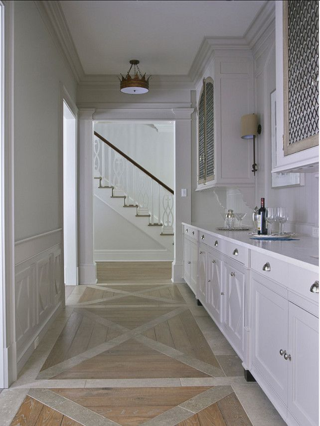 Butler's Pantry. Beautiful Butler's Pantry Design. #ButlersPantry #Interiors