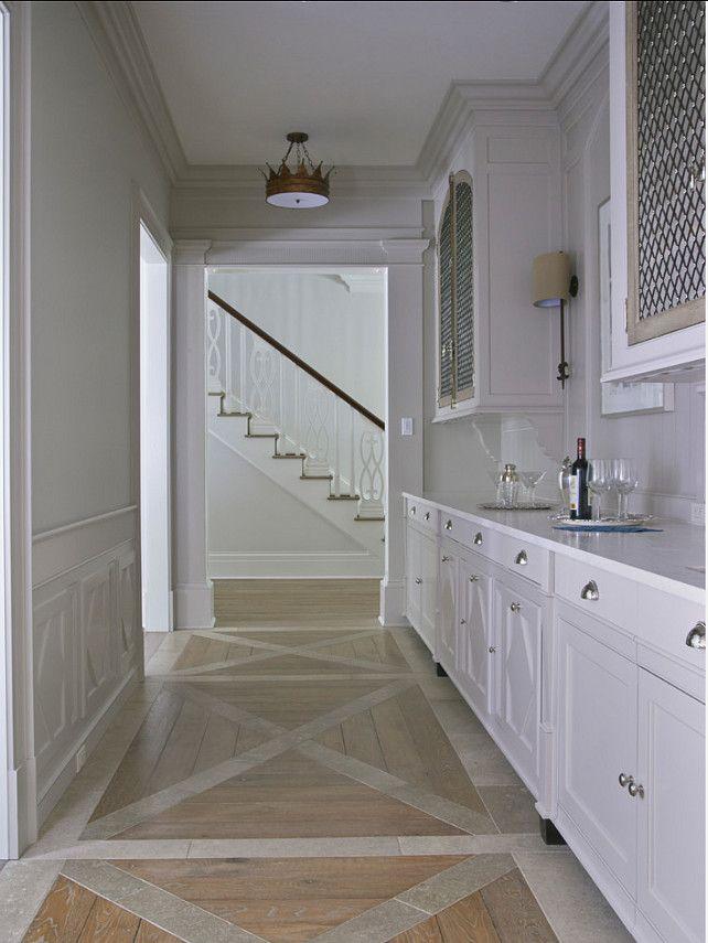 Butler's Pantry. Beautiful Butler's Pantry Design. #ButlersPantry #Interiors