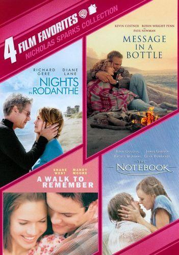 Nicholas Sparks Collection: 4 Film Favorites [4 Discs] [DVD]