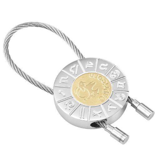 R&B Schmuck Unisex Schlüsselanhänger - Steinbock Sternzeichen (Silber, Gold): 12,90€