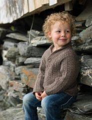 Børnesweater med snoninger
