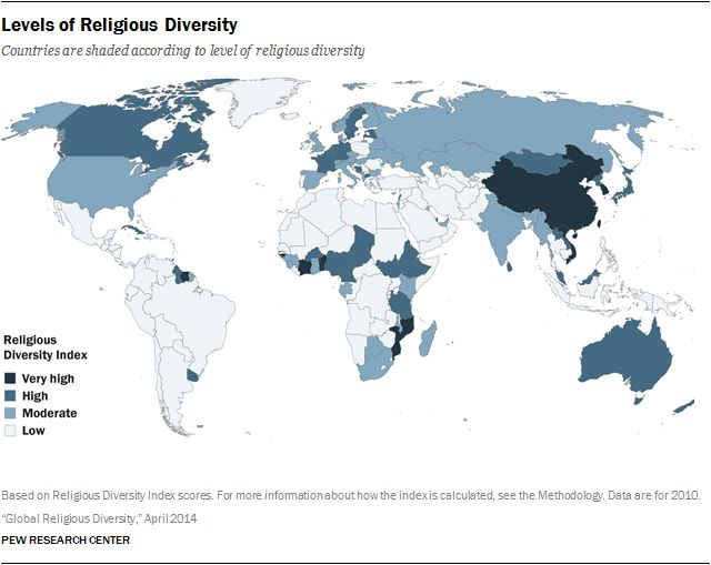 8 best Religion today images on Pinterest Religion, Maps and Islamic - best of world map with africa in center