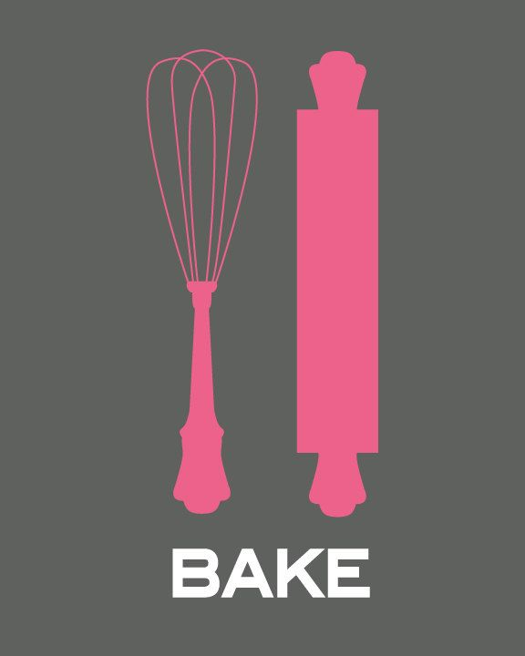 printable - cute for the kitchen   I like these better than the fork and spoon in everyone else's kitchens.