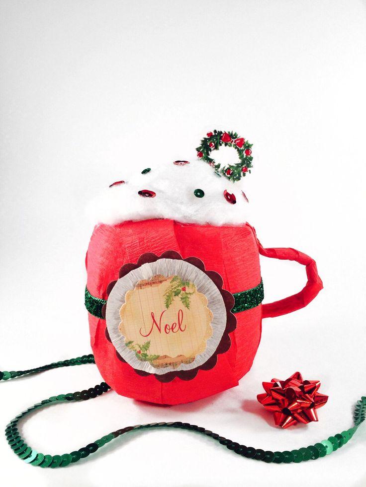 Hot Coco Mug Surprise Ball by GoodieGoodieSurprise on Etsy