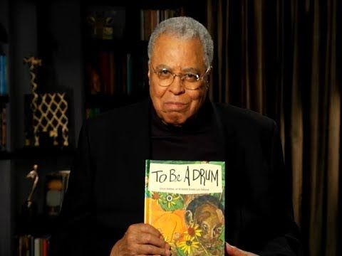 """""""To Be a Drum"""" read by James Earl Jones - would be great to use when talking about African Music :)"""