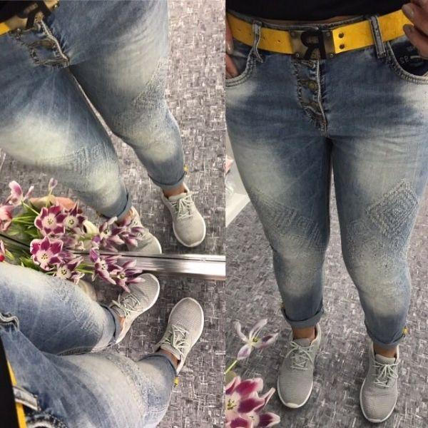 Гламурные джинсы ,терка-рисунок на ткани