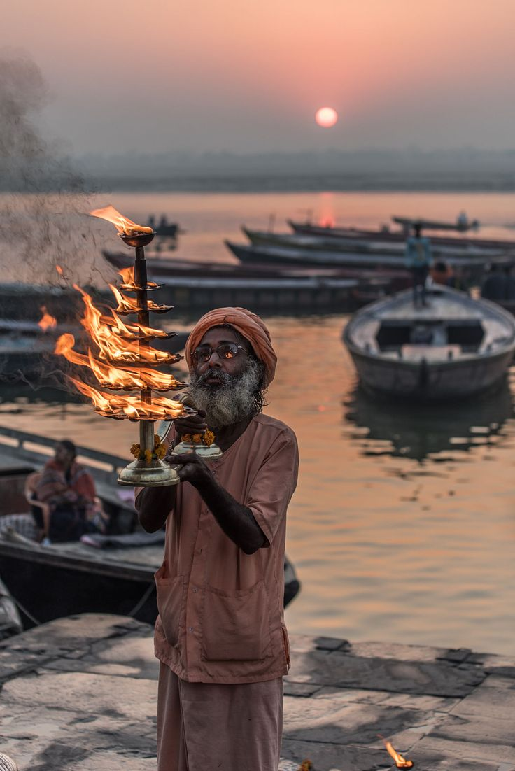 Ganga Aarti, Varanasi, India                                                                                                                                                                                 More
