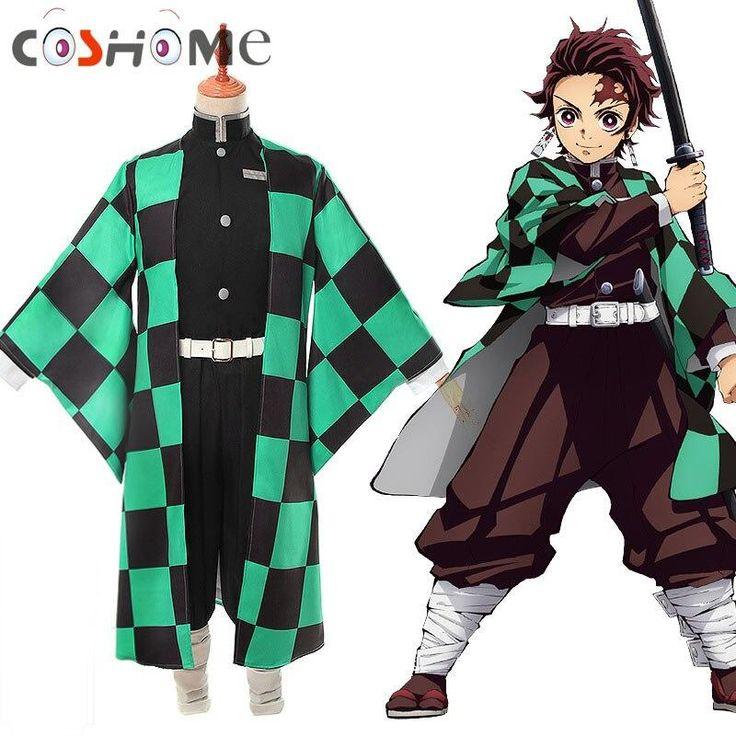 Anime demon slayer cosplay kimetsu no yaiba tanjiro kamado