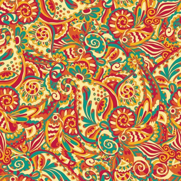 Diseño de patrón abstracto Vector Gratis