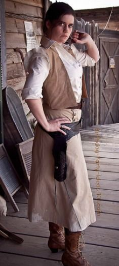 western wear home made costume | western costume