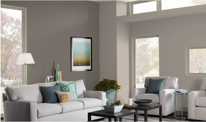 Paint Color Schemes Living Rooms