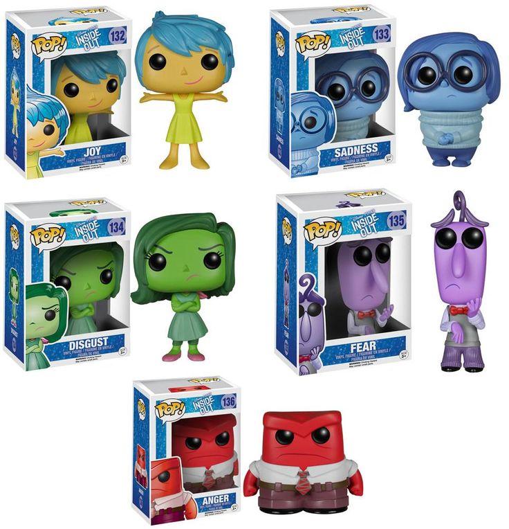 Pre-Order Funko POP Disney Pixar Inside Out Figures