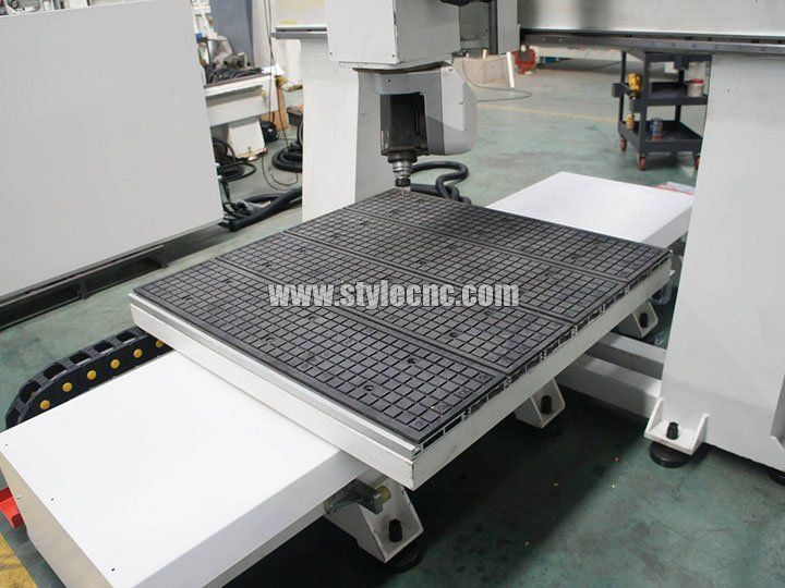 The third detailed picture of Small 5 axis cnc machining center