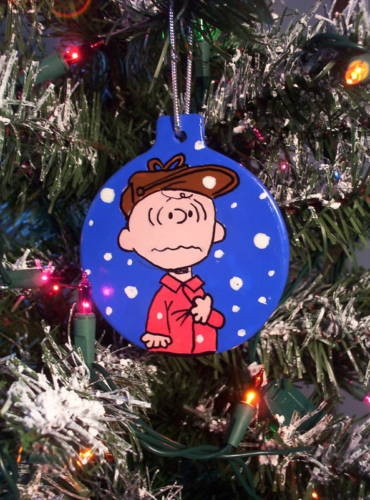 Charlie Brown Panics PEANUTS Christmas Ornament 2012 SNOOPY Tree | eBay