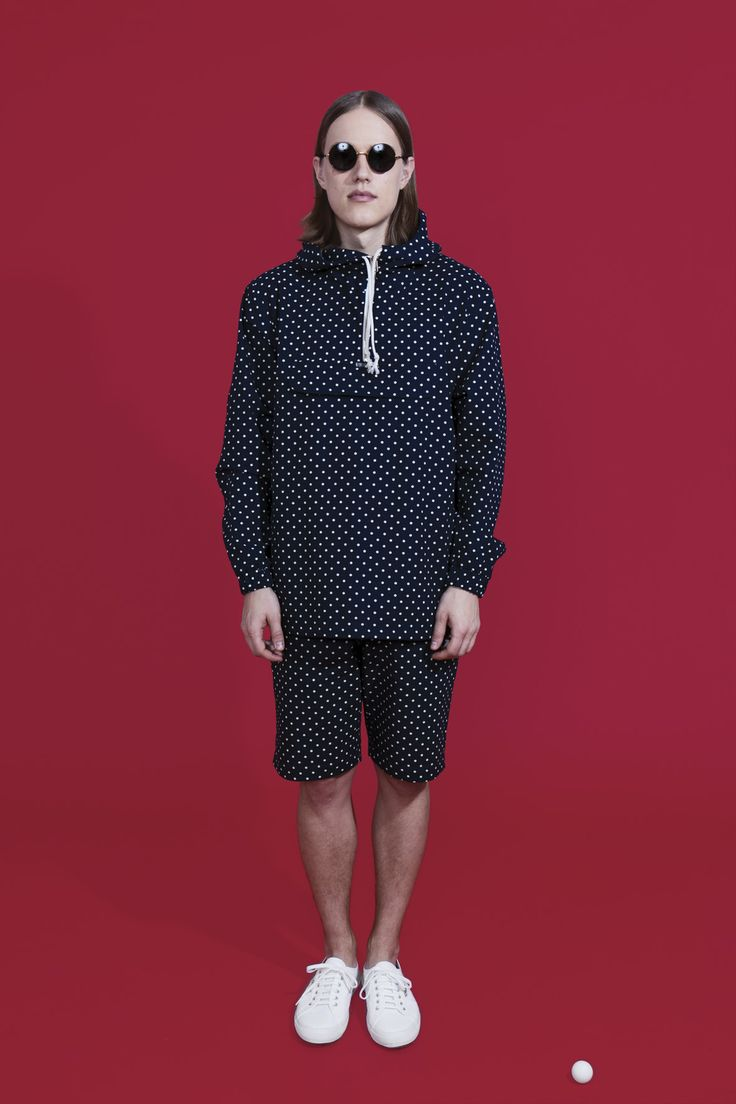 R-Collection Dotted Anorak. Photo by Osma Harvilahti.