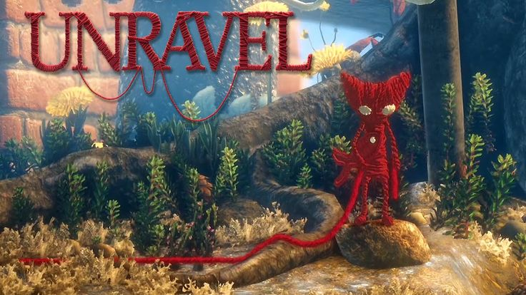 #2 Unravel - The Sea - Video Game - Walkthrough - Lets Play - Gameplay