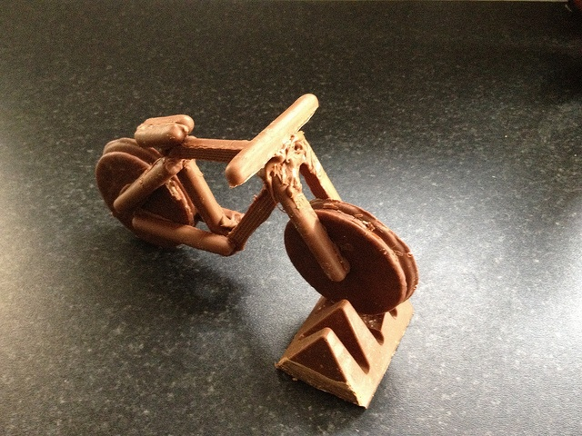 Bill Bailey Chocolate Bike by Toe_Knee_K, via Flickr