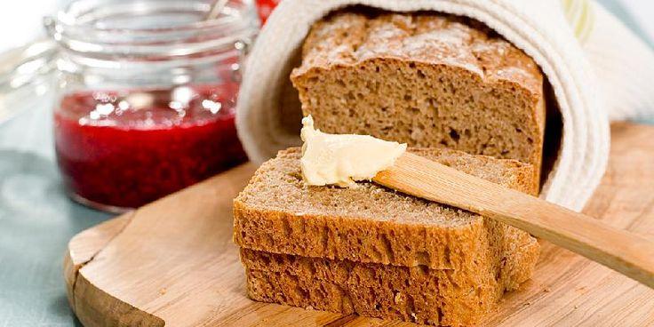Grovt speltbrød - Dette blir et skikkelig saftig og godt grovt speltbrød!
