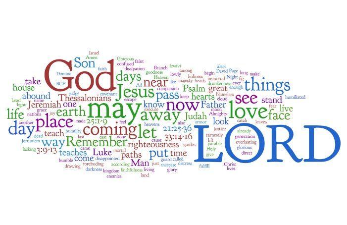 Week 1 Advent  Jeremiah 33:14-16, Psalm 25:1-9 1, Thessalonians 3:9-13, Luke 21:25-36  Santos Woodcarving Popsicles