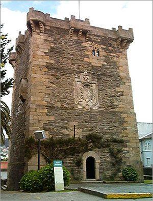 Torreón de Los Andrade. Pontedeume. (A Coruña). Galicia. Spain.
