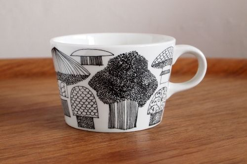 ARABIA Tatti Ceramic Cup Esteri Tomula
