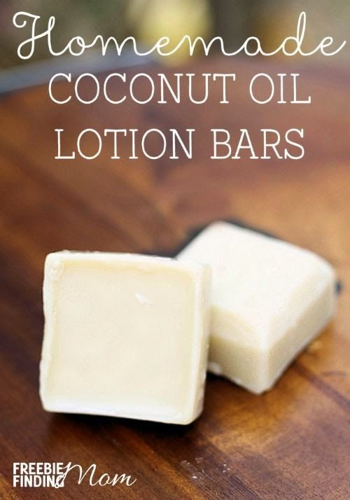 Best DIY Projects: Homemade Coconut Oil Lotion Bars - Moisturize your skin without chemicals and unnatural ingredients by using homemade coconut oil lotion bars. You can customize this easy DIY recipe by substituting your favorite essential oils. These homemade coconut oil lotion bars also make great DIY gifts.