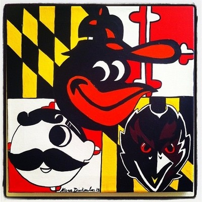 Cracks me up how an area/state can have such nostalgic feelings towards an drink logo. Baltimore.