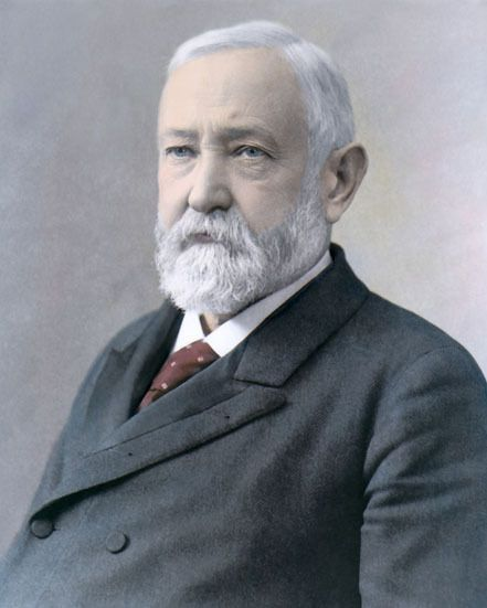 Benjamin Harrison 23rd US President Ohio Native