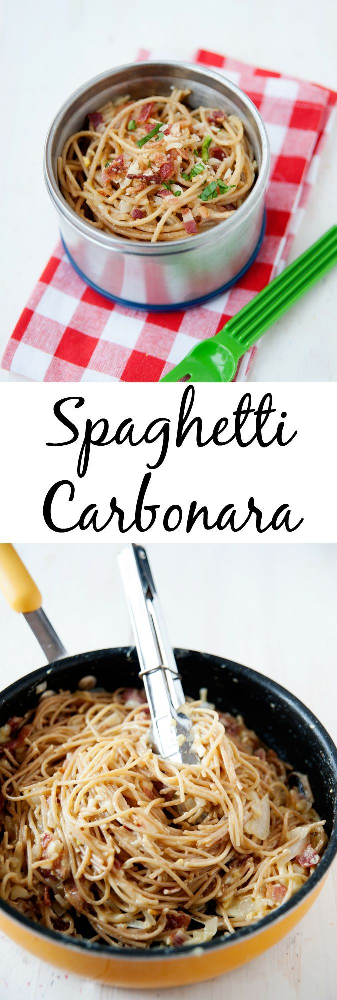 This easy spaghetti carbonara recipe is one that comes together quickly in the skillet with minimal effort. It's one meal everyone will love!