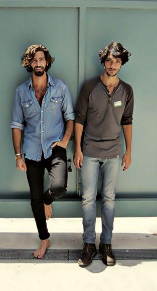 hair beard shirt tumblr jeans men Style
