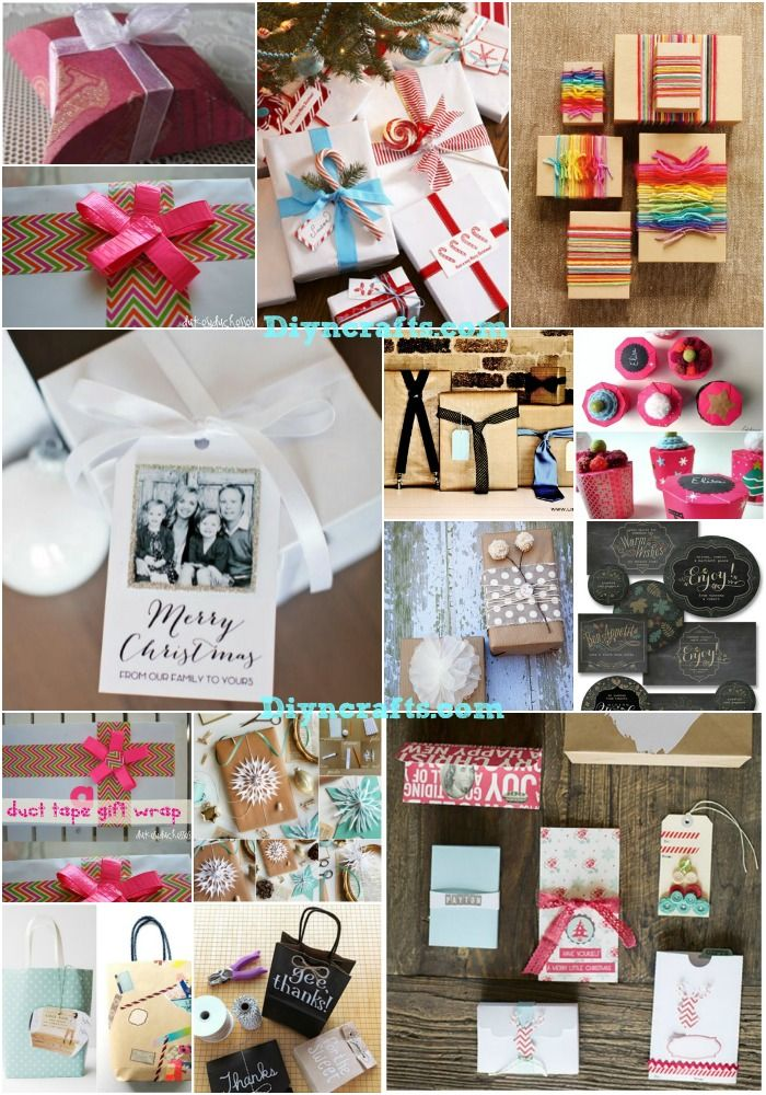 629 best diy craft and gift ideas images on pinterest infant 40 amazing christmas gift wrapping ideas you can make yourself solutioingenieria