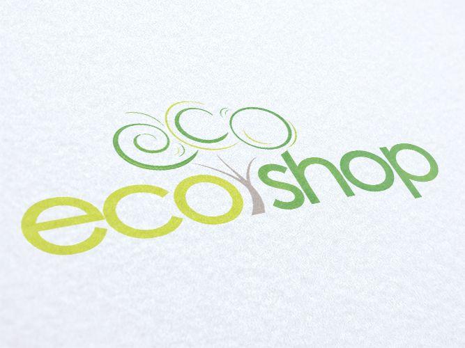 Ecoshop Logo Design