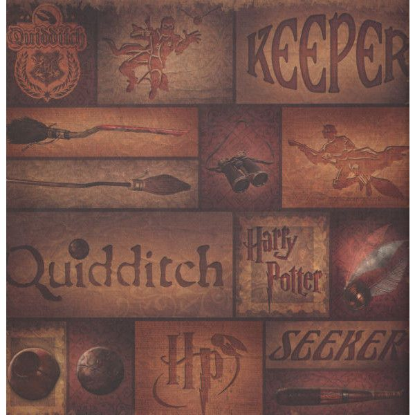 Harry Potter Quidditch 12 x 12 Double-Sided Paper ($0.95 ...