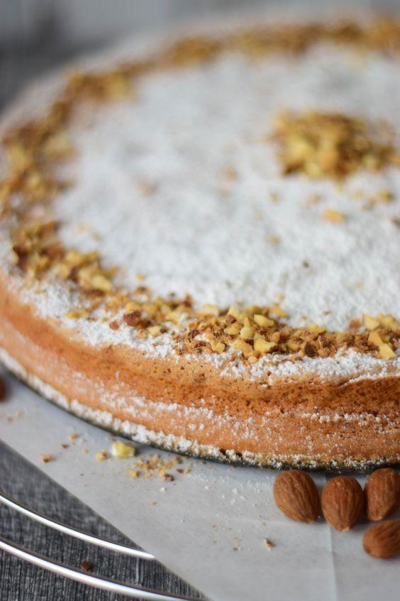 Fluffy Cake - Mallorquinischer Mandelkuchen - saftig leicht - ganz ohne Mehl