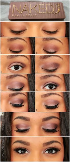 Pictorial: UD Naked 3 Smokey Eye | Kay's Couture