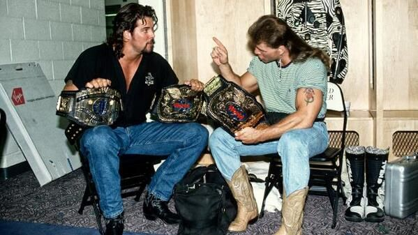 Photo: Old School Pic Of Shawn Michaels And Kevin Nash - WrestlingInc.com