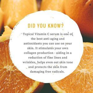 ESTHETICIAN SKIN CARE ADVICE - VITAMIN C