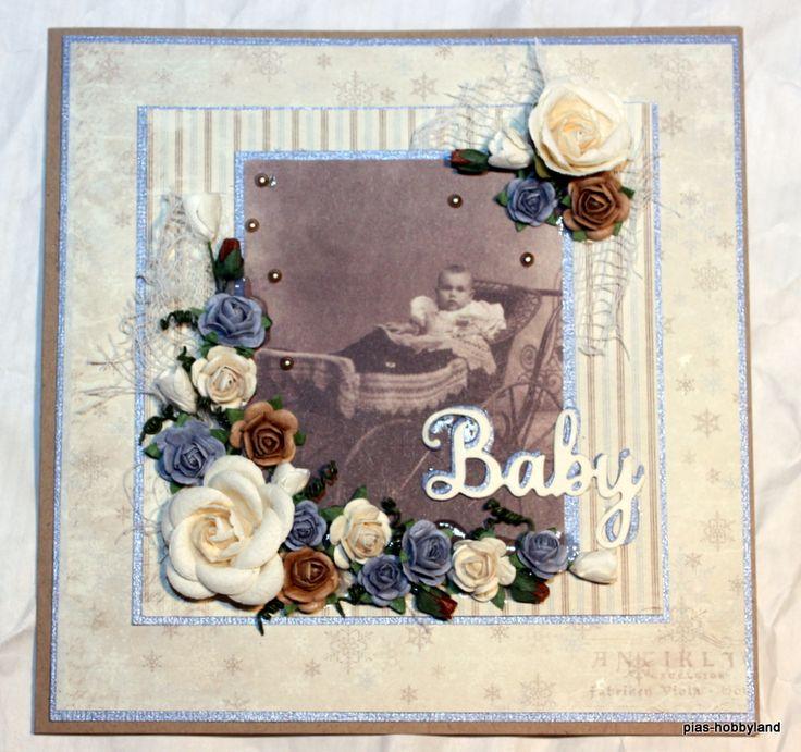 kort for babygutt card for babyboy