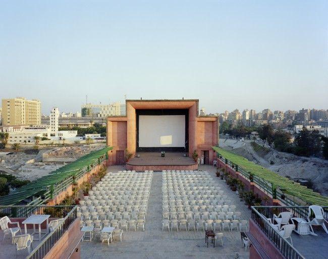 La salle de plein air du cinéma Le Rio, à Alexandrie